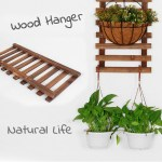 Haila Elegant Plant Flower Hanging Wall Holder Wood Frame Rack Ladder Floral Design Shopee Malaysia