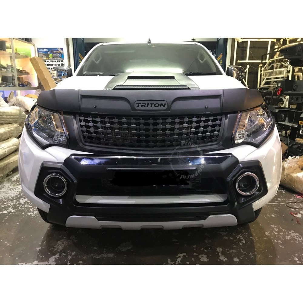 medium resolution of isuzu d max 2016 idf 050 front bumper guard silver black shopee malaysia