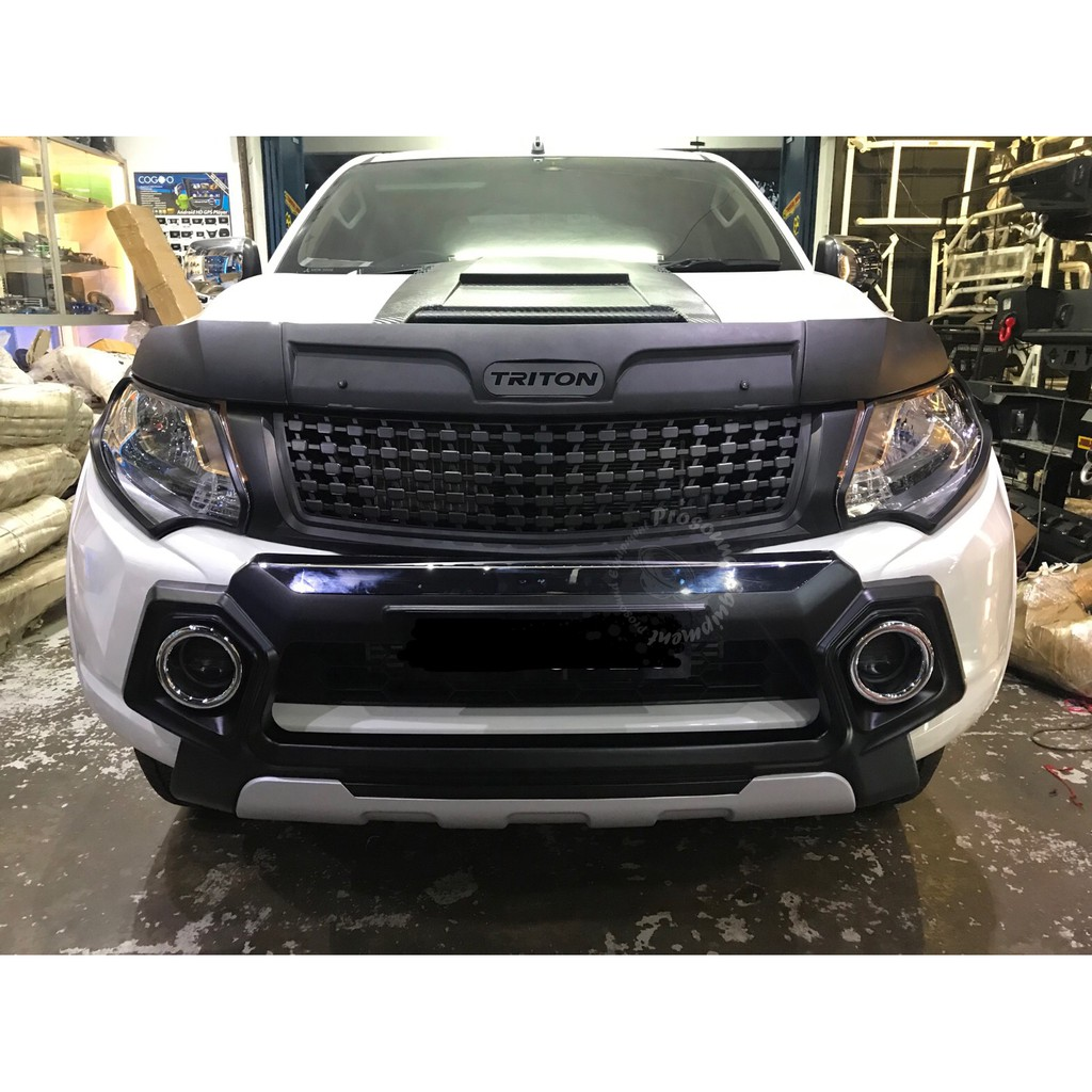 hight resolution of isuzu d max 2016 idf 050 front bumper guard silver black shopee malaysia
