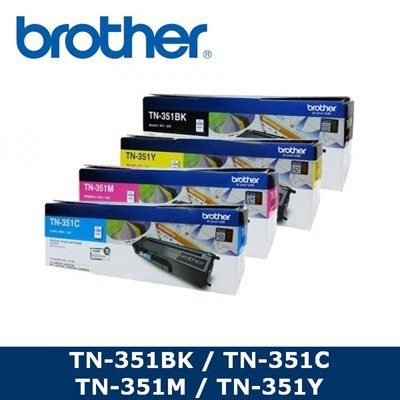 Brother TN-351 Toner DR-351CL Drum (Genuine) TN351 351BK 351C 351M 351Y | Shopee Malaysia