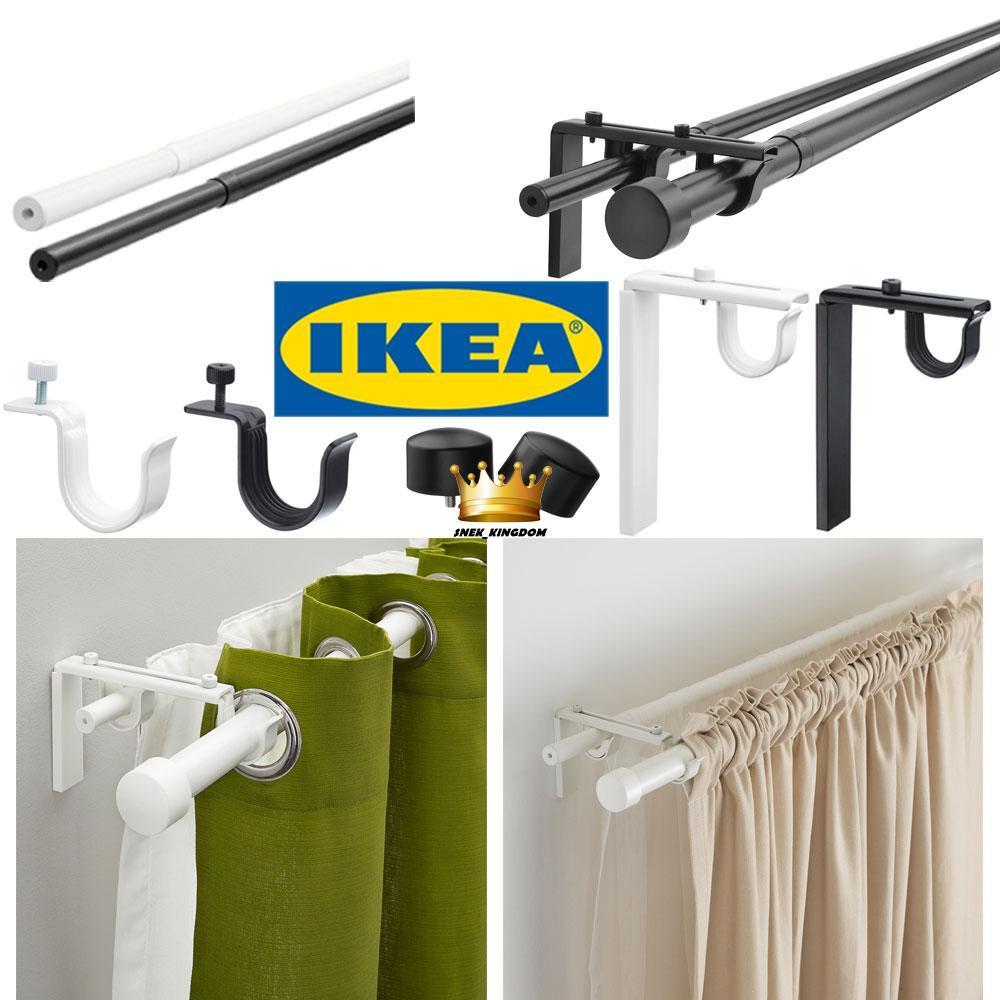 ikea curtain rod holder wall bracket racka betydlig raffig hugad curtain rod holder wall ceiling bracket wall hanger