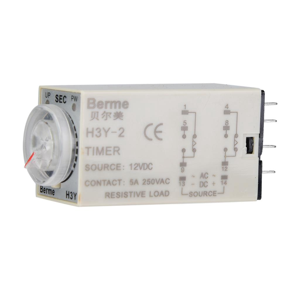 hight resolution of h3y 2 ac220v delay timer time relay 0 60 seconds base shopee malaysia