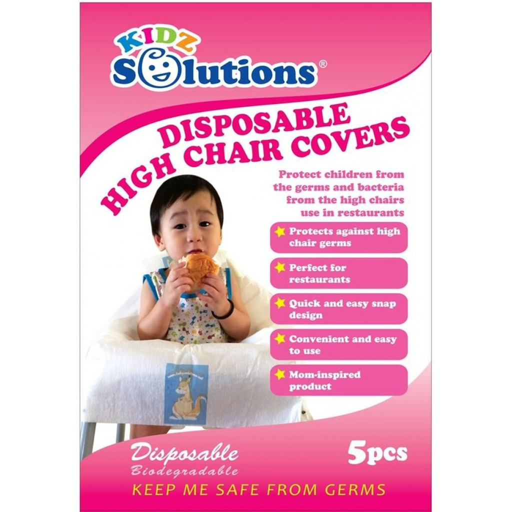 Restaurant High Chair Cover Kidz Solutions Disposable High Chair Covers