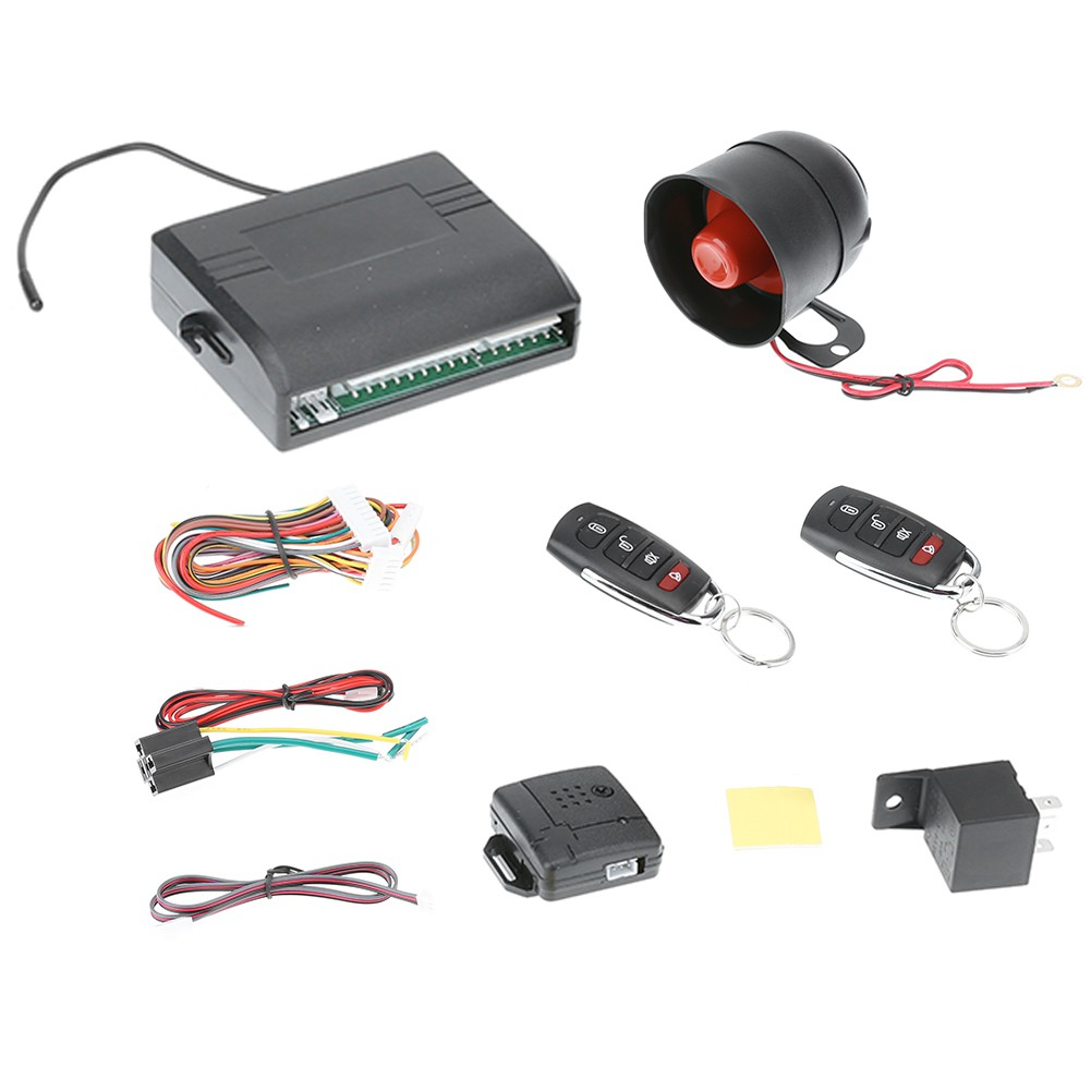 hight resolution of  dom universal car alarm system with flip key remote control central door lock shopee malaysia