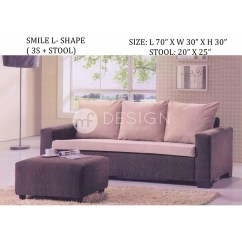Sofa Bed Malaysia Murah Mario Bellini Le Bambole L Shape Taraba Home Review