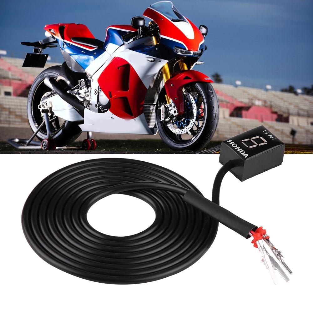 hight resolution of motorcycle ecu plug mount 6 speed digital gear indicator display for honda cb400f cb500x cb650f shopee malaysia