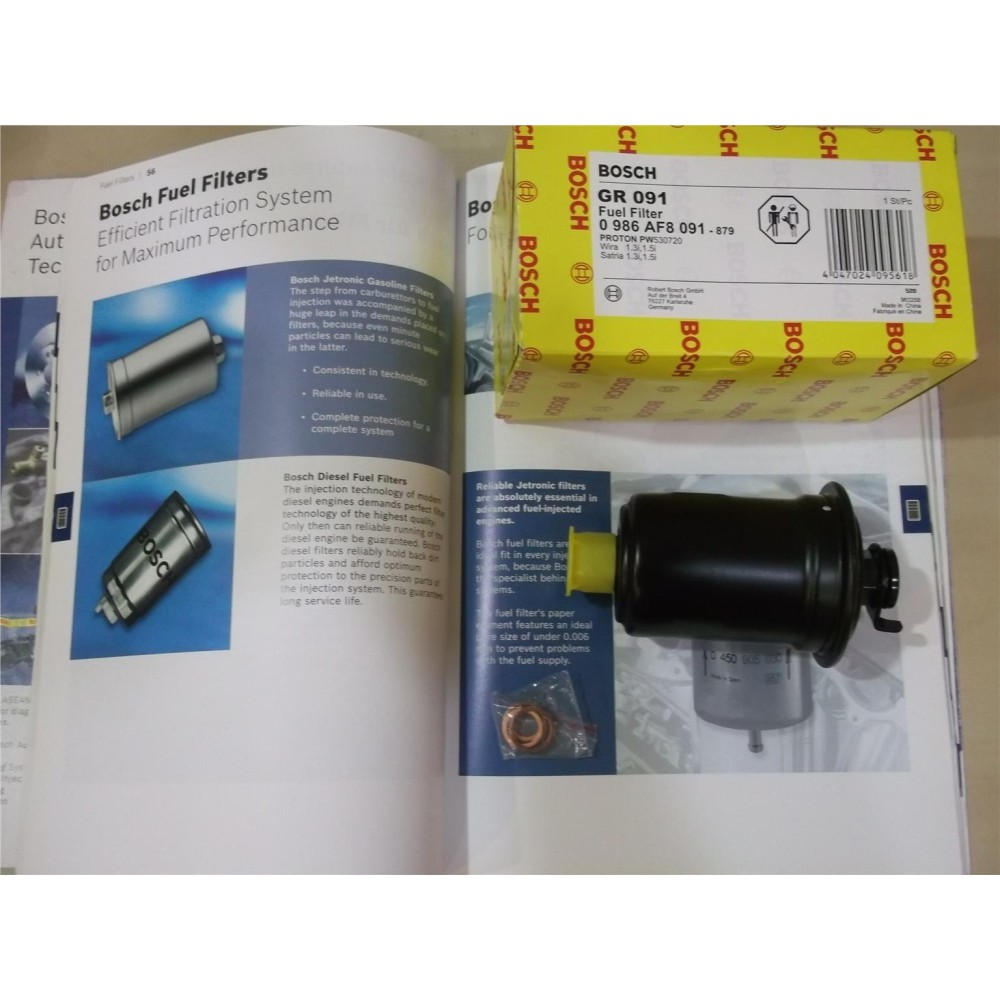 medium resolution of bosch fuel filter for proton wira satria 1 3 1 5 12v injection shopee malaysia