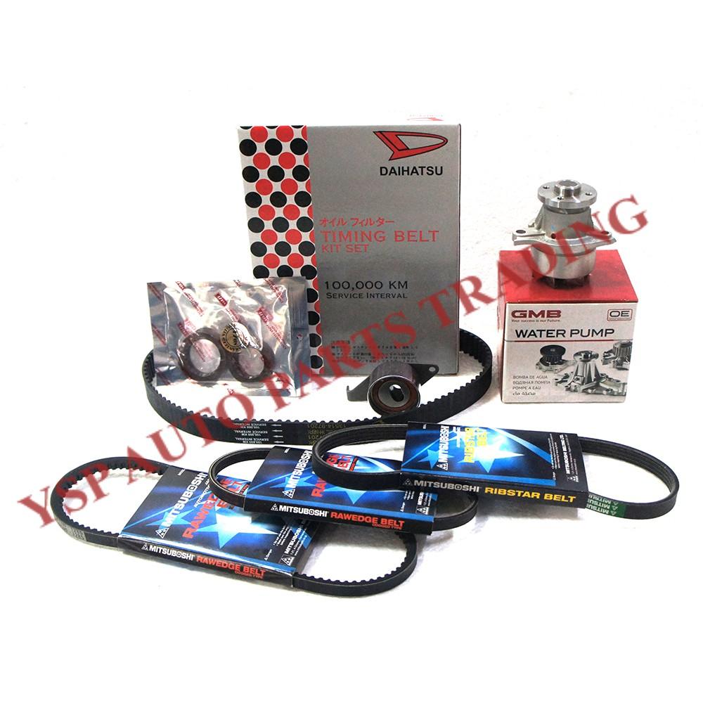 medium resolution of 100 original perodua kancil 660 100 000km timing belt kit shopee malaysia