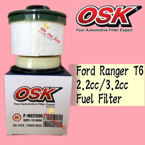 small resolution of osk fuel filter f n82500 ford ranger t6 2 2cc 3 2cc triton 2017 diesel filter mazda bt50 shopee malaysia