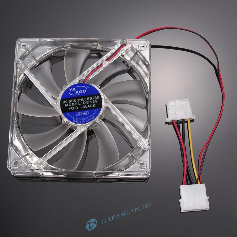 hight resolution of  dr 12v computer case pc cooling fan rgb led 120mm quiet ir remote controller 3c shopee malaysia