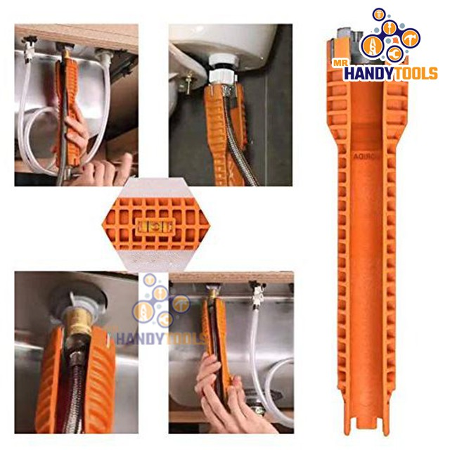 faucet and sink install tool kit wrench kitchen bathroom faucet sink installer