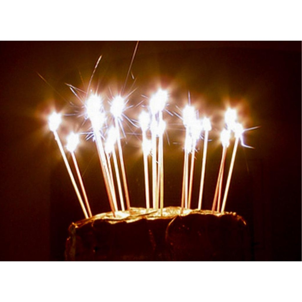amscan sparkling candle birthday