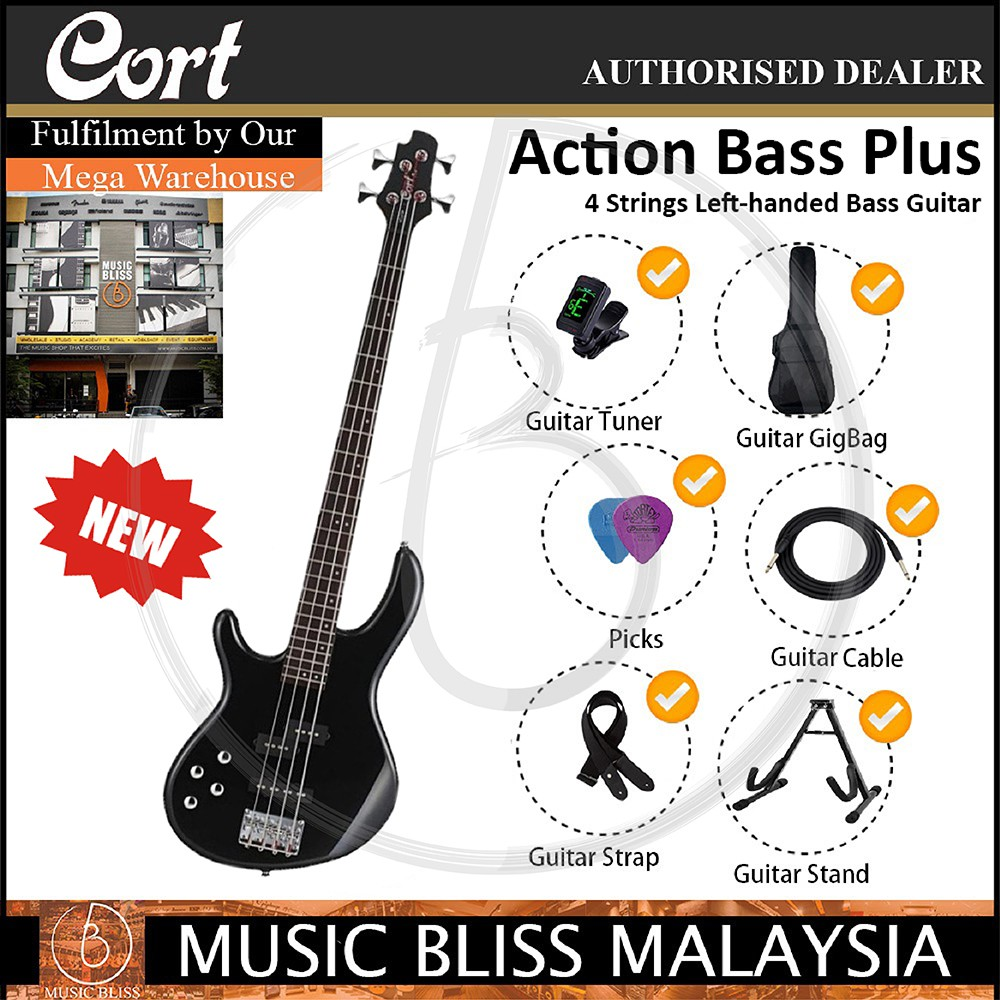 medium resolution of cort action v dlx electric bass guitar faded grey burst shopee malaysia