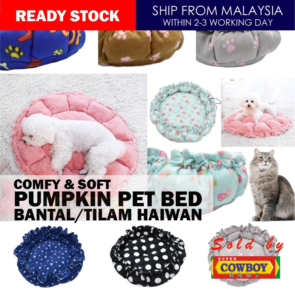 comfy soft pumpkin pet bed tilam kucing tilam haiwan pumpkin pillow pet bed cat dog