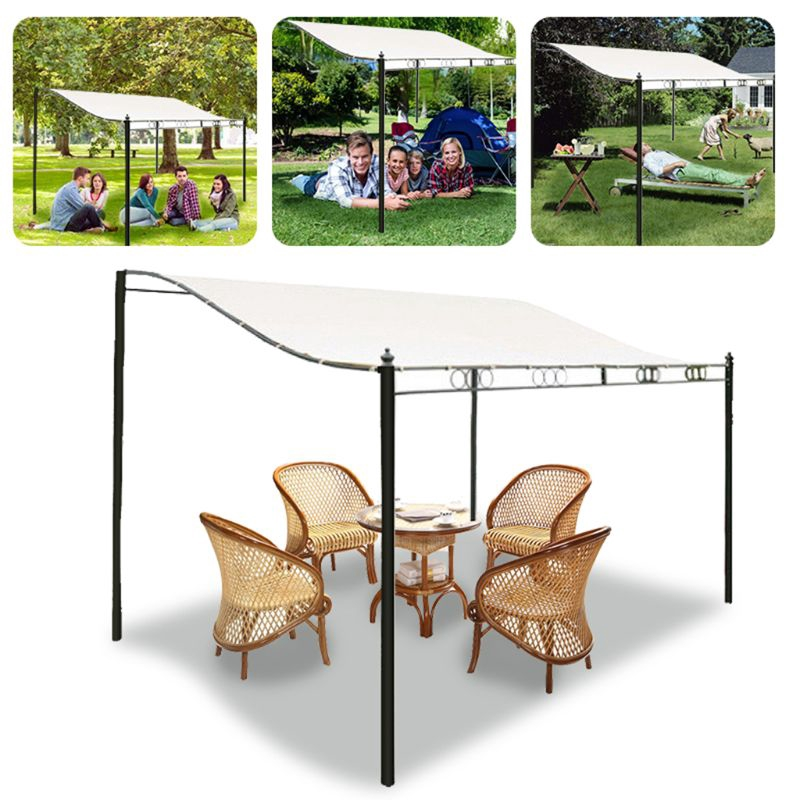 300d canvas waterproof tent canopy sun shelter cloth outdoor tent top roof cover patio awning