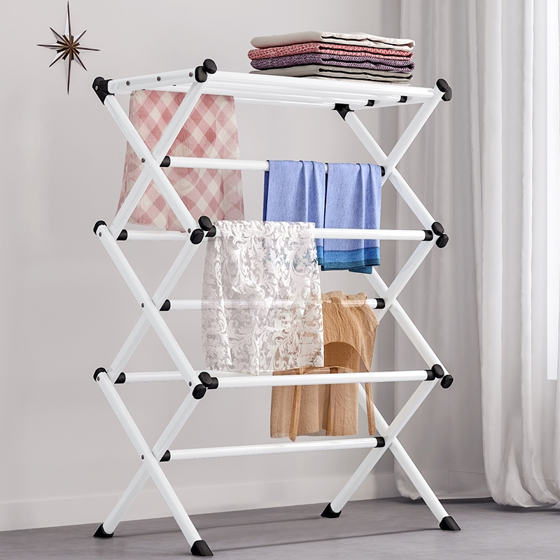 clothes hanger foldable clothes hanger rack laundry drying hanger stand nordic style hanger for clothes