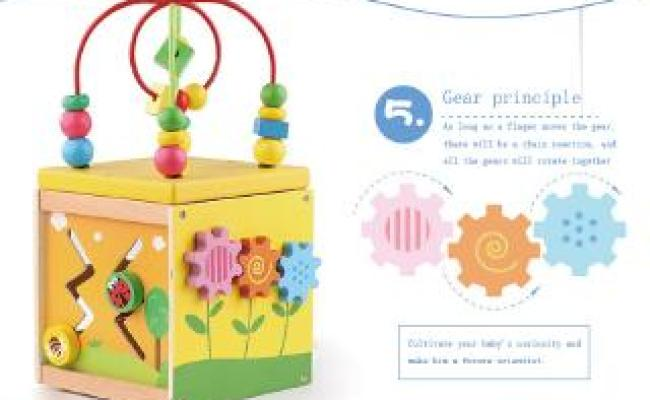 Activity Wooden Toys For One Year Old Girl And Boy Gifts