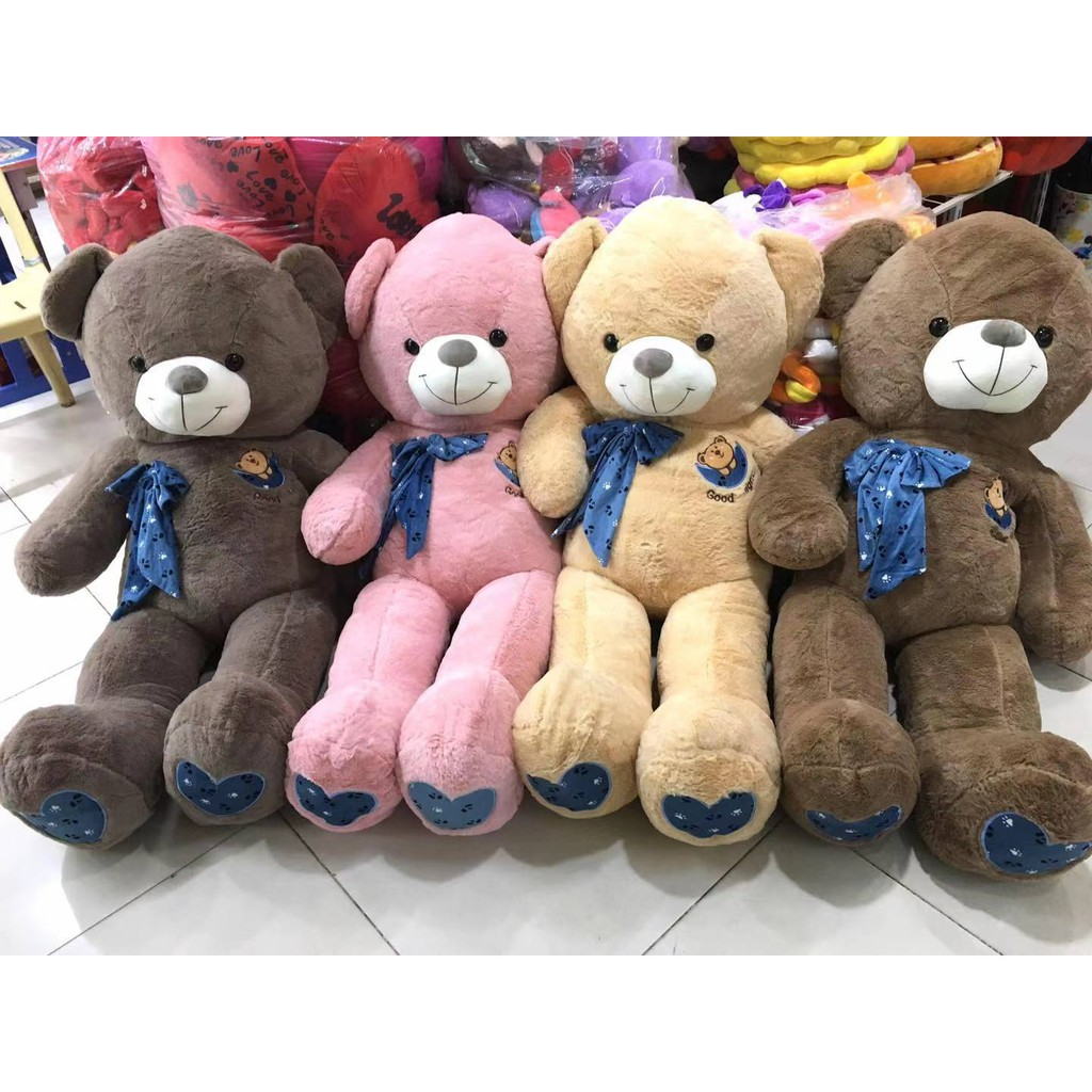 korean teddy bear almost 5ft human size stuffed toy gift cod