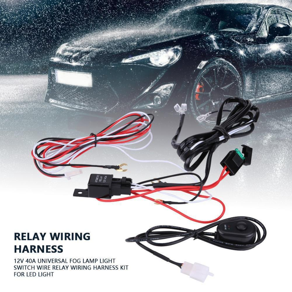 medium resolution of 12v work light remote control wiring harness switch relay shopee philippines