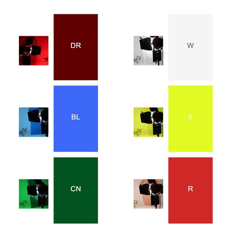 bang filter paper photo gels color stage lighting red head light strobe flashlight studio wooden