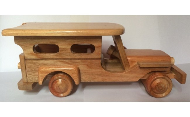 Wooden Jeepney Truck Display Model Toy Shopee Philippines