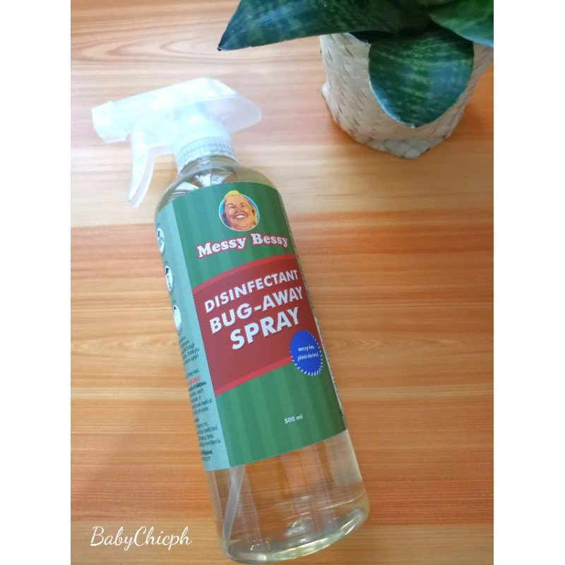 Messy Bessy Disinfectant Bug-Away Spray 500ml   Shopee ...