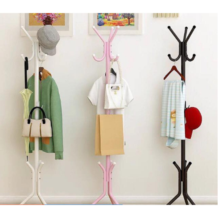coat rack hanging pole rack clothes hanger coat stand