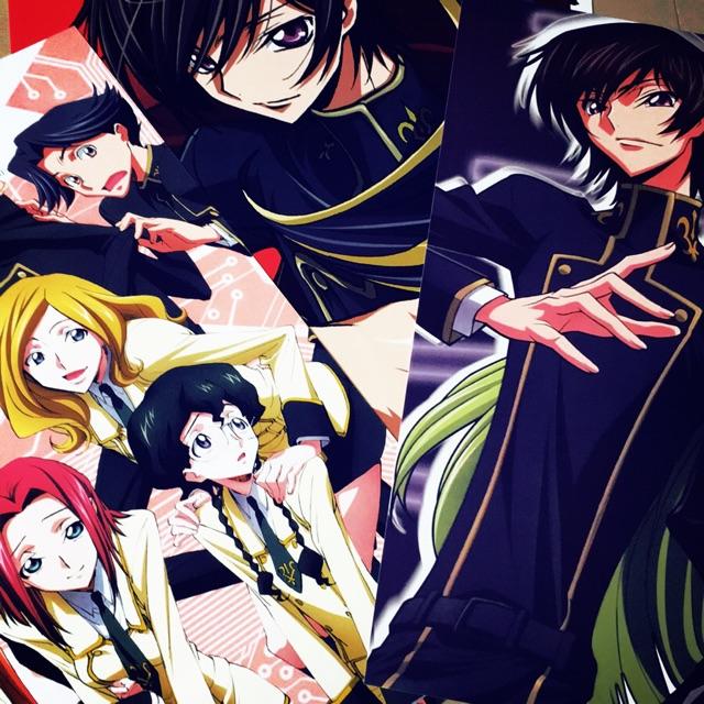 anime code geass poster