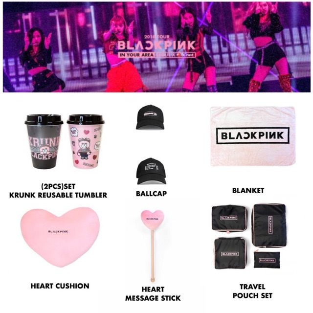 Blackpink Concert Official Merchandise  Shopee Philippines
