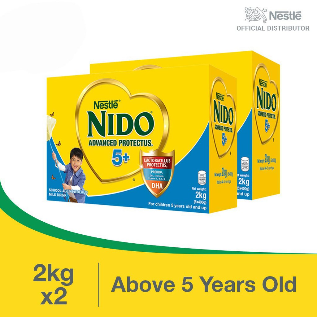 Nido 5+ Advanced Protectus Powdered Milk Drink For ...