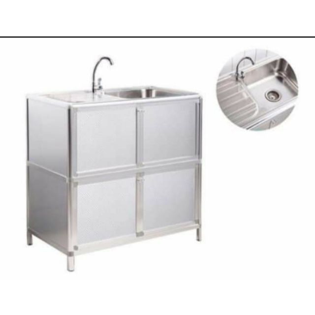 portable stainless kitchen sink