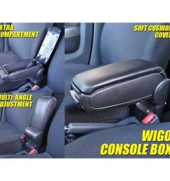 console box for toyota wigo vios altis alto avanza almera shopee philippines [ 1000 x 1000 Pixel ]