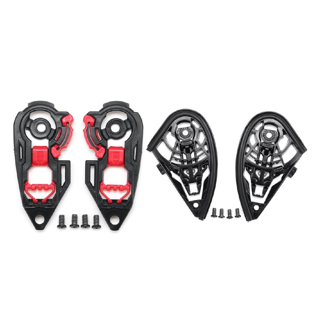 Motorcycle Helmet Visor Shield Gear Base Plate Set For AGV