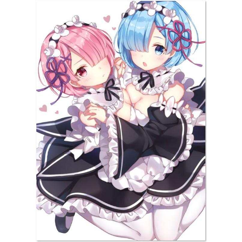 re zero anime poster posters