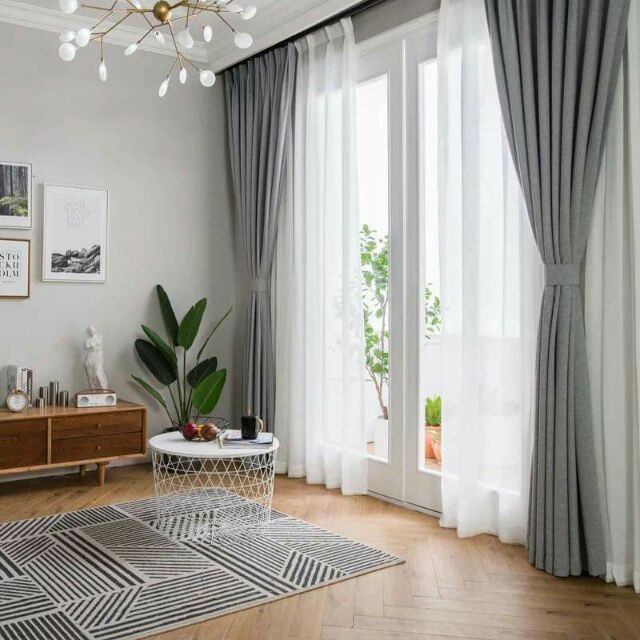 plain darkening thermal insulated blackout grommet window curtain panel for living room a 1281