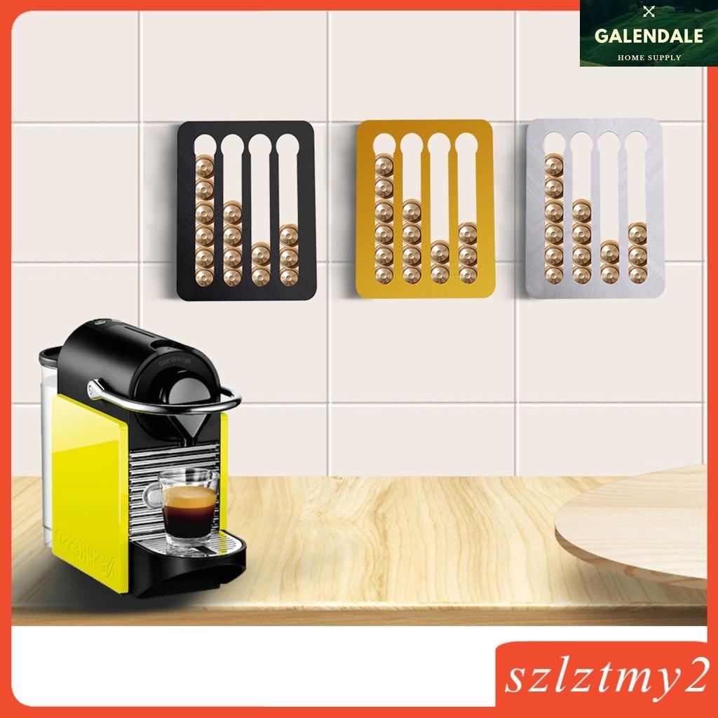 cod nespresso coffee capsule holder stand rotary coffee pod rack