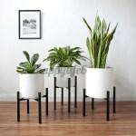 Adjustable Large Plant Stand Flower Pot Metal Display Holder Indoor Outdoor Happylife6 Shopee Philippines