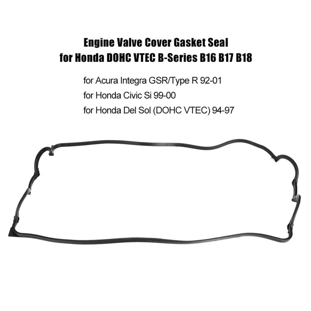 medium resolution of engine valve cover gasket seal for honda dohc vtec b series shopee philippines