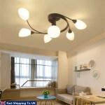 Modern Ceiling Light Home Bedroom Pendant Chandeliers Lamp Lighting Fixtures Shopee Philippines
