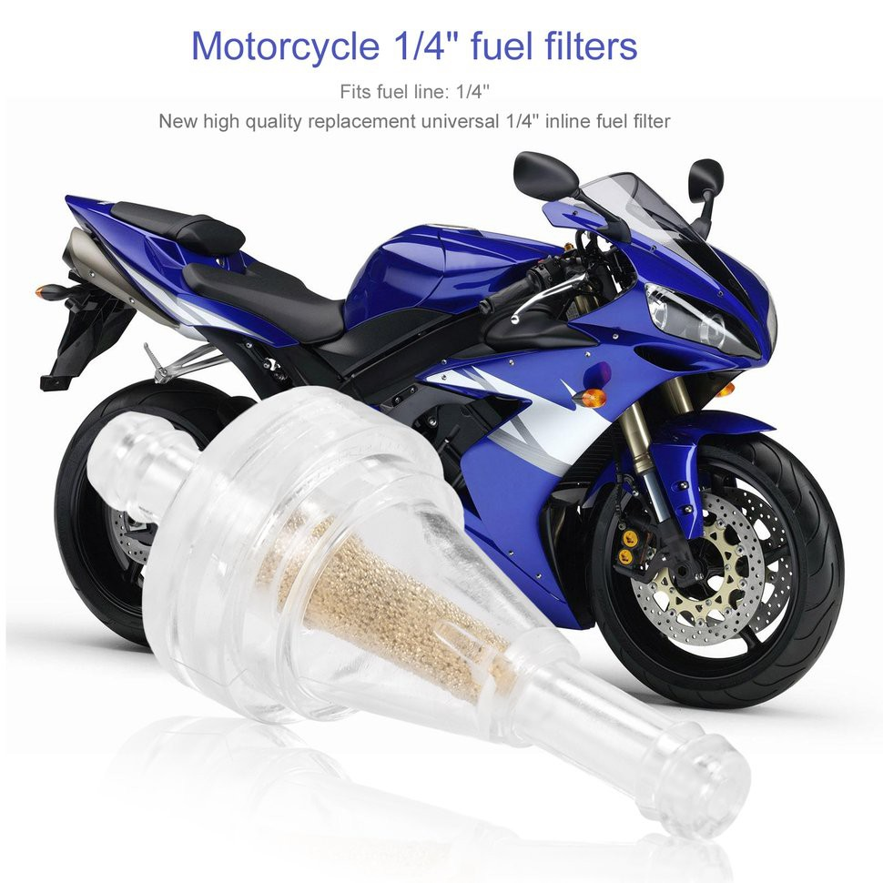 hight resolution of 10pcs 1 4 clear inline fuel gas filter for motorcycle shopee philippines
