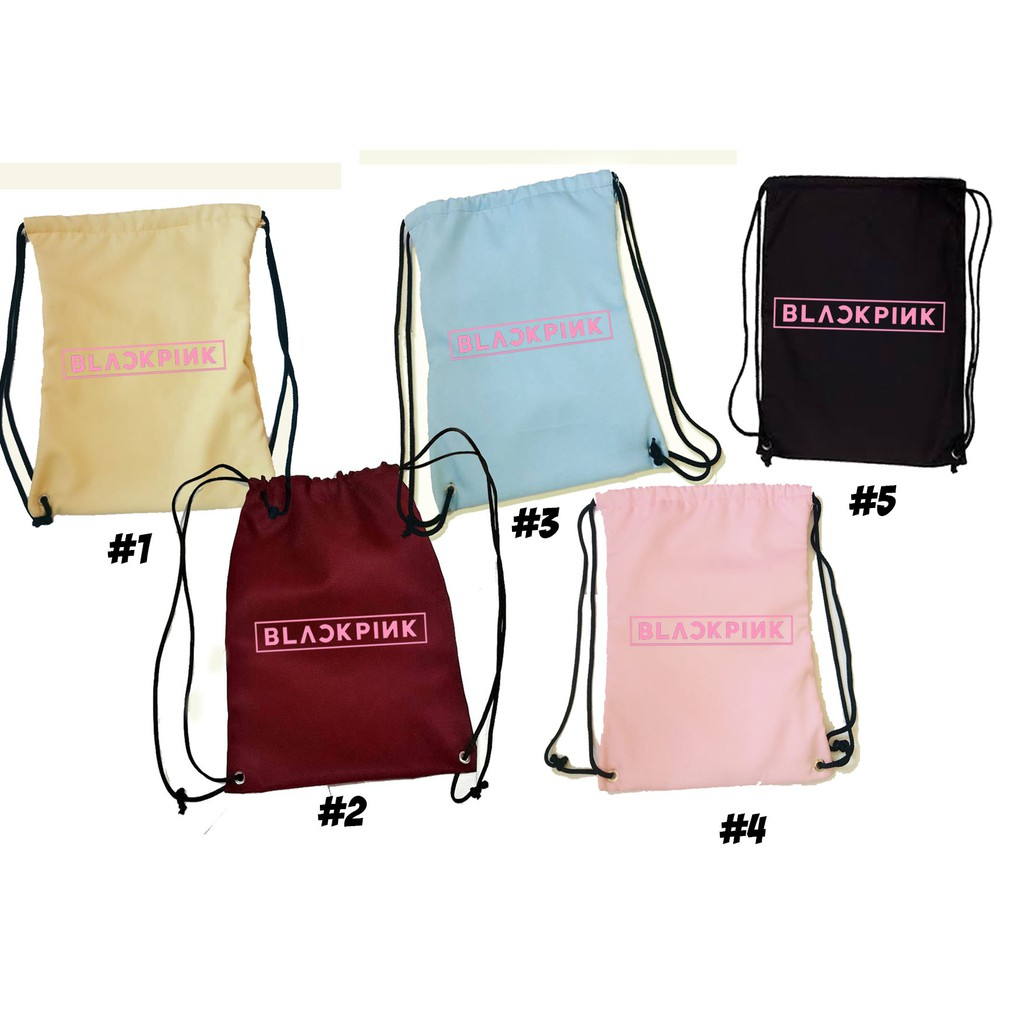 blackpink string bag  blackpink merchandise  Shopee