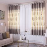 Semi Blackout Short Curtains Printed Living Room Bedroom Balcony Custom Finished Curtains On Sale Shopee Philippines