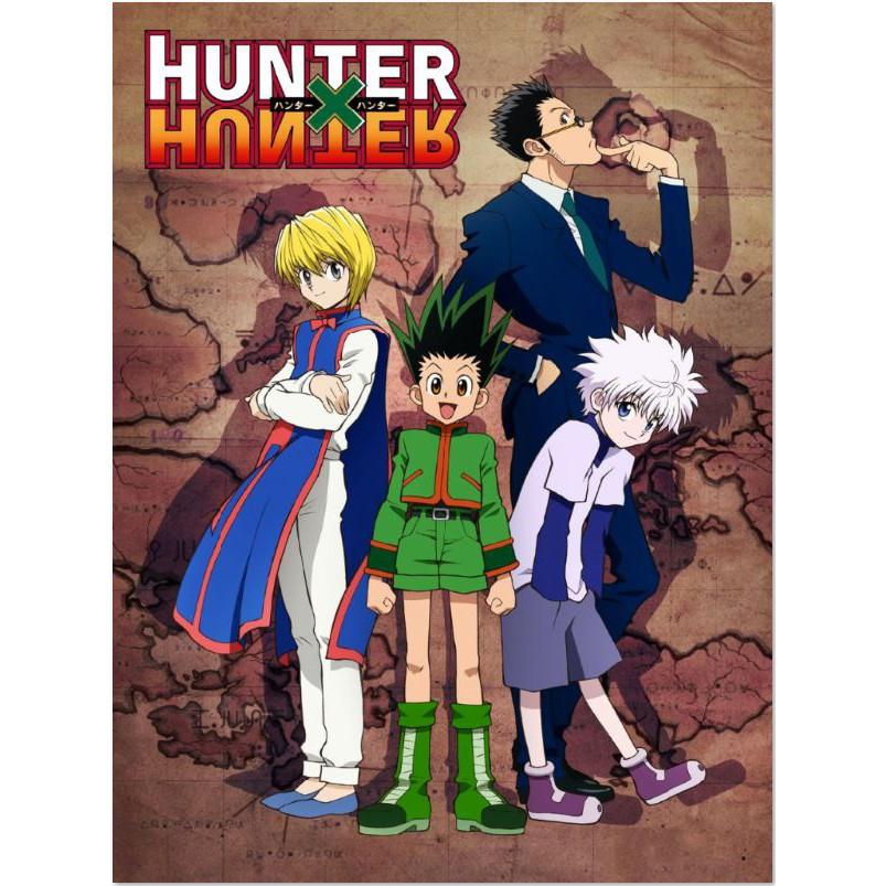 hunter x hunter anime poster posters