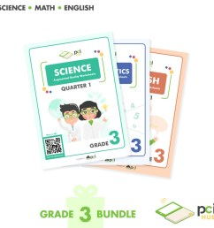 Grade 3 Bundle - Augmented Reality (AR) Worksheets   Shopee Philippines [ 1024 x 1024 Pixel ]