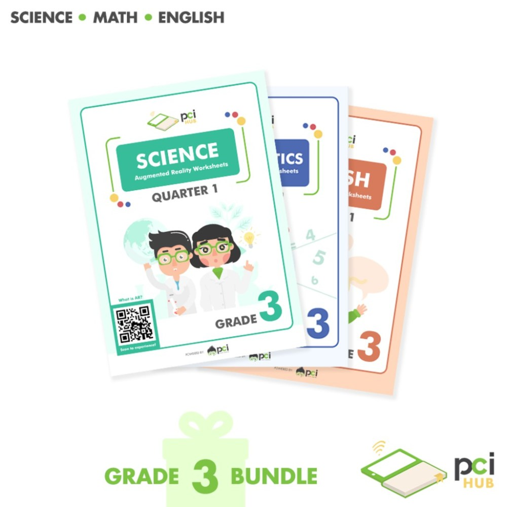 medium resolution of Grade 3 Bundle - Augmented Reality (AR) Worksheets   Shopee Philippines