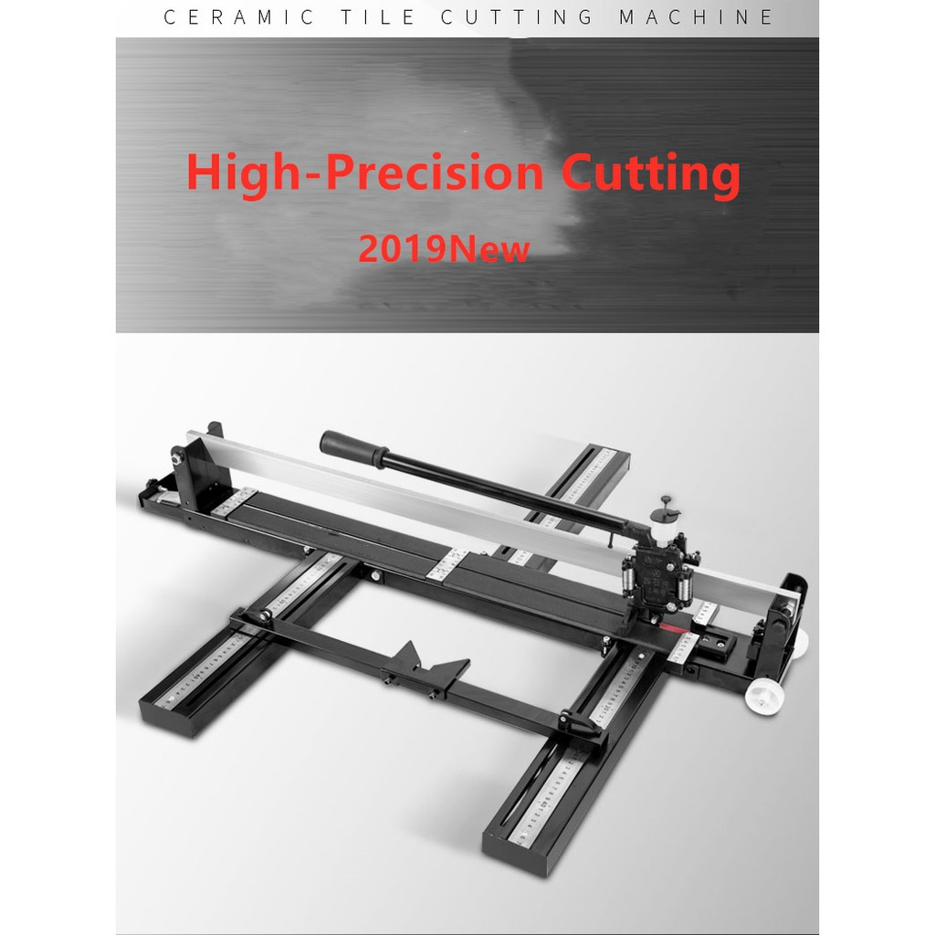 ready stock 800mm manual tile cutter ceramic tile cutter cutting machine tiles tools ceramic cutting with infrared scale
