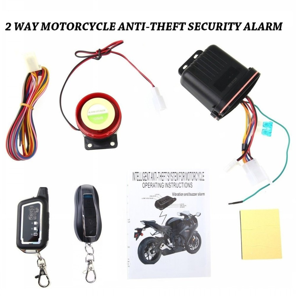 medium resolution of universal motor alarm system two way remote vibration and alarm shopee philippines