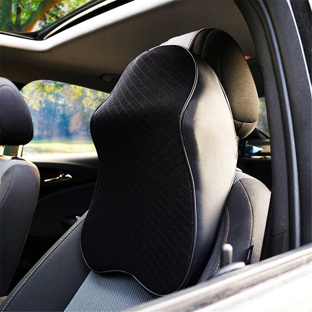 car neck pillow 3d memory foam head rest adjustable auto headrest pillow travel neck cushion s