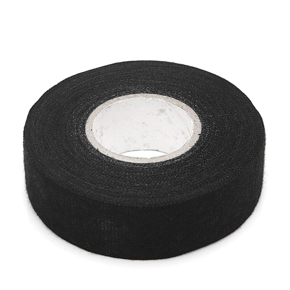 medium resolution of black flannel 15m car auto wiring harness anti rattle self adhesive felt tape shopee philippines
