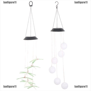 【COD LFG】Solar Color Changing LED Butterfly Wind Chimes